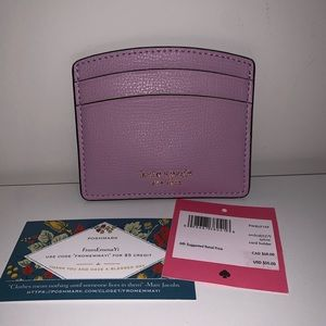 Kate Spade Sylvia Orchid Card Holder